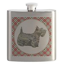 RDORN-scottish-terrier-christmas Flask