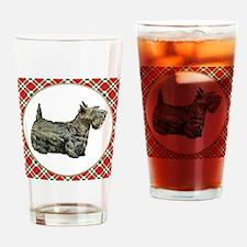 RDORN-scottish-terrier-christmas Drinking Glass