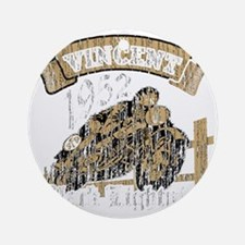Vincent Round Ornament