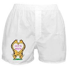 Let's Neck Boxer Shorts