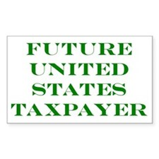 Future Taxpayer Centered Decal
