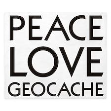 peace_love_geocache King Duvet