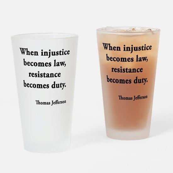 resisdut Drinking Glass