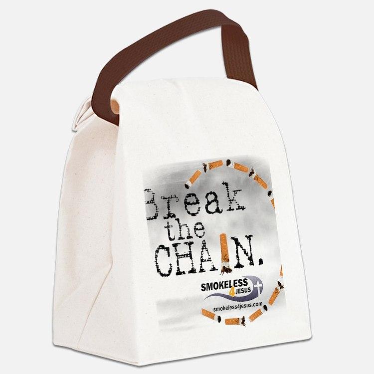 breakthechain Canvas Lunch Bag