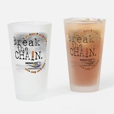 breakthechain Drinking Glass