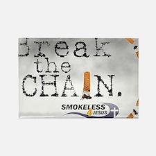 breakthechain Rectangle Magnet