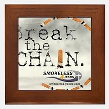 breakthechain Framed Tile