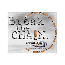 breakthechain Throw Blanket