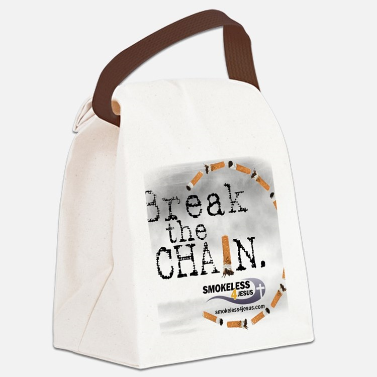 3-breakthechain Canvas Lunch Bag