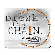 3-breakthechain Mousepad