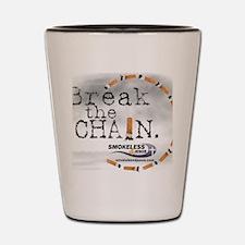 3-breakthechain Shot Glass