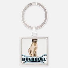 bone BOERBOEL Square Keychain