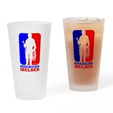 Welder Drinking Glass