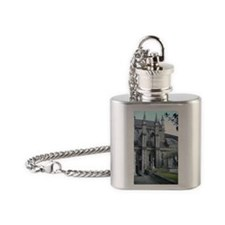 St. Patricks Cathedral Flask Necklace