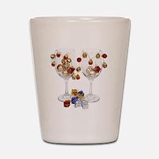 CheerfulWineGlasses053110 Shot Glass