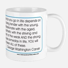 Geo Washington Carver Mug