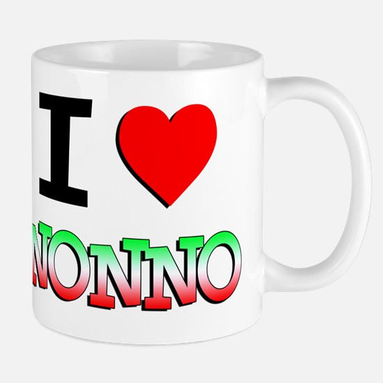I Love Nonno Baby Shirt Mug