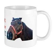My Horse Is Smarter... Mug