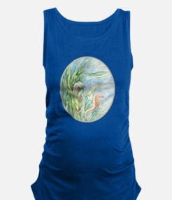 Gift Floating Seahorses.Png Maternity Tank Top