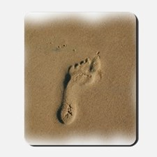 10x10footprint. Mousepad