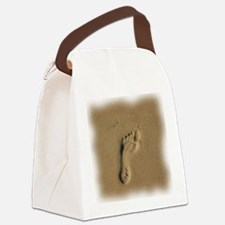 10x10footprint. Canvas Lunch Bag