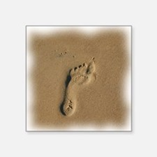 "10x10footprint. Square Sticker 3"" x 3"""