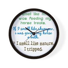 If I Smell Like... Wall Clock