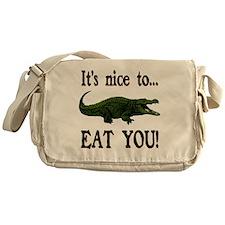 ALLIGATOR Messenger Bag