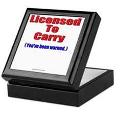 Licensed10 Keepsake Box