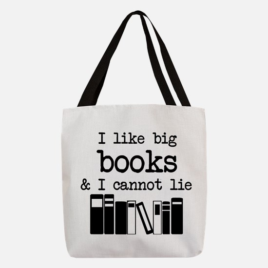 I like Big Books Polyester Tote Bag