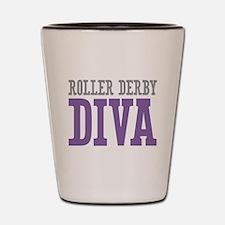 Roller Derby DIVA Shot Glass