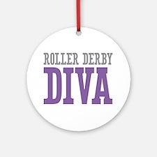 Roller Derby DIVA Ornament (Round)