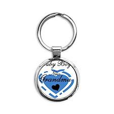 2newgmaboy Round Keychain