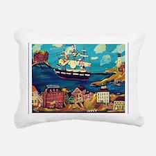 maincomebordercp Rectangular Canvas Pillow