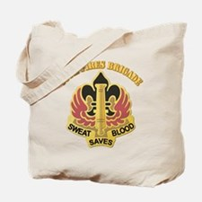 DUI - 18th Fires Brigade With Text Tote Bag