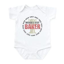 World's Best Baker Infant Bodysuit