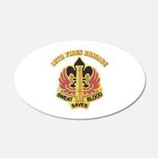 DUI - 18th Fires Brigade With Text Wall Decal