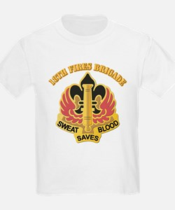DUI - 18th Fires Brigade With Text T-Shirt