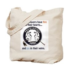 fire and ice Tote Bag