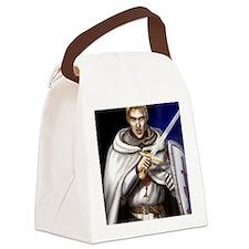 angry odo colour fin bigga Canvas Lunch Bag