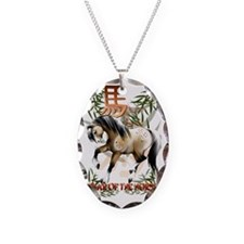 Year O fThe Horse Trans Necklace
