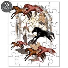 Dream Horses 3x4 Trans Puzzle