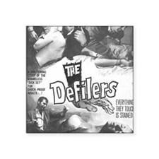 "The Defilers Square Sticker 3"" x 3"""