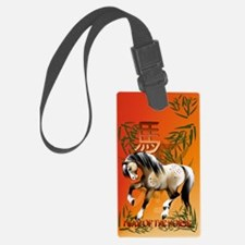 Year Of The Horse_journal Luggage Tag