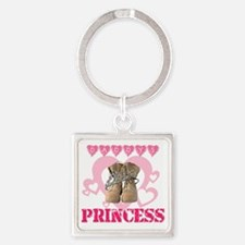 Princess Square Keychain