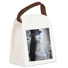 2-20.10.07 top hat fin Canvas Lunch Bag