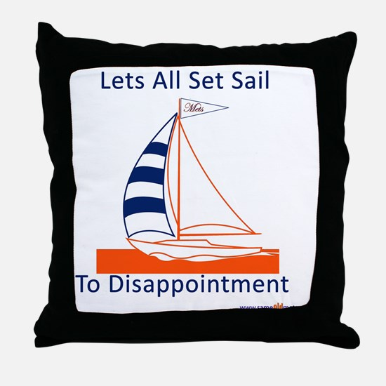 letssetsail Throw Pillow