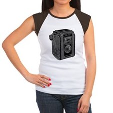 Old_school_kodak Women's Cap Sleeve T-Shirt
