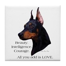 Dobe-Add Love Tile Coaster