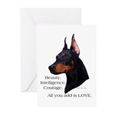 Dobe-Add Love Greeting Cards (Pk of 10)